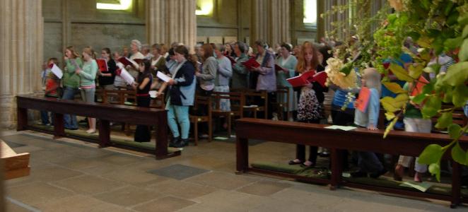Choirs at Wells Choral Festival